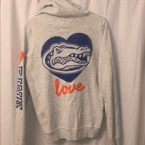 Pre-loved UF Gators Hooded Sweatshirt, VS PINK, M
